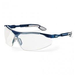 Очки защитные открытые UVEX Ай-Во, прозрачные, регулируемые дужки, защита от царапин, 9160285