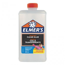 Клей для слаймов канцелярский ELMERS Clear Glue, 946 мл (7-8 слаймов), 2077257