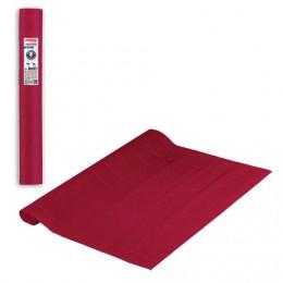 Бумага гофрированная (ИТАЛИЯ) 140г/м, красная (989), 50х250см, BRAUBERG FLORE, 112562