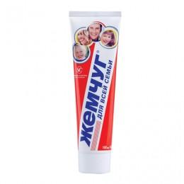 Зубная паста, 100 мл, ЖЕМЧУГ, комплексная защита от кариеса, для всей семьи, 17125