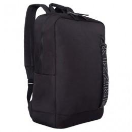 Рюкзак GRIZZLY деловой, 1 отделение, карман для ноутбука, черный, 42x28x12 см, RQ-013-5/1