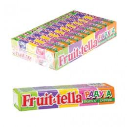 Жевательная конфета FRUITTELLA (Фруттелла) Радуга, 41 г, 87042