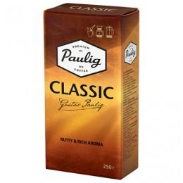 Кофе молотый PAULIG (Паулиг) Classic, натуральный, 250 г, вакуумная упаковка, 16277