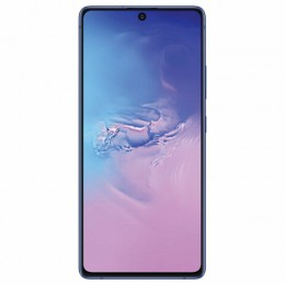 "Смартфон SAMSUNG Galaxy S10 lite, 2 SIM, 6,7"", 4G (LTE), 48/32 + 12 + 5 Мп, 128 ГБ, синий, металл, SM-G770FZBUSER"