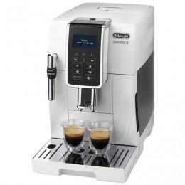 Кофемашина DELONGHI ECAM 350.35.W, 1450 Вт, объем 1,8 л, емкоть для зерен 300г, ручной капучинатор, белый