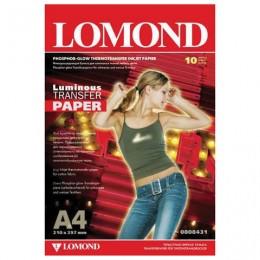 Бумага термотрансферная LOMOND флуоресцентная, А4, 10 шт., 140 г/м2, 0808431