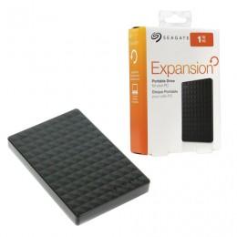 Диск жесткий внешний HDD SEAGATE Expansion, 1 TB, 2,5, USB 3.0, черный, STEA1000400