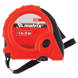 Рулетка измерительная 7,5 м х 25 мм, MATRIX