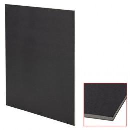 Пенокартон матовый, 50*70 см, толщина 5 мм, черный, КОМПЛЕКТ 5 листов, BRAUBERG, код, 112472