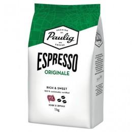 Кофе в зернах PAULIG (Паулиг) Espresso Originale, натуральный, 1 кг, вакуумная упаковка, 16727