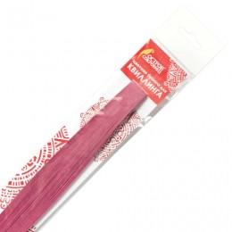 Бумага для квиллинга розовая, 125 полос, 5х300 мм, 130 г/м2, ОСТРОВ СОКРОВИЩ, 128770