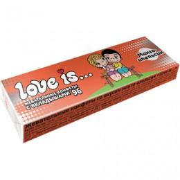 Жевательная конфета LOVE IS со вкусом Манго-апельсин, 25 г, 70386