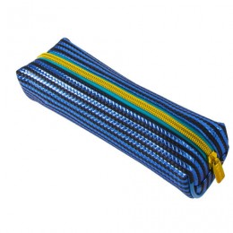 Пенал-косметичка BRAUBERG, мягкий, Royal, голубой, 19х6х6 см, 229023