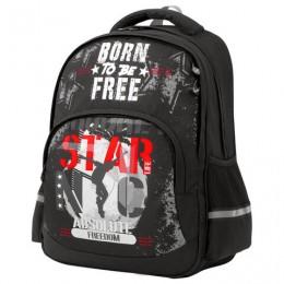 Рюкзак BRAUBERG SOFT, 2 отделения, Freedom, СВЕТЯЩИЙСЯ, 40х31х15 см, 228790