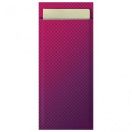 Конверты бум. для столовых приборов TORK Advanced с кремовой салфеткой, 39х23, 100шт, бордо, 474329