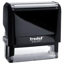 Оснастка для штампа, размер оттиска 70х25 мм, синий, TRODAT 4915 P4, подушка в комплекте, 56884