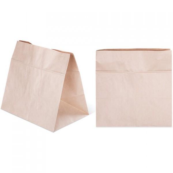 Крафт пакет бумажный 32х20х34 см, плотность 70 г/м2, 606868