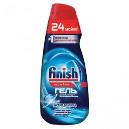 Гель для мытья посуды в посудомоечных машинах 600 мл FINISH All in 1 MAX,Чистота до блеска, 3071032