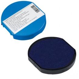 Подушка сменная для печатей ДИАМЕТРОМ 45 мм, для TRODAT 46045, 46145, синяя, 80809